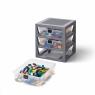 Lego, Regał z szufladami - Szary (40950003)